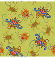 Seamless colorful pattern in asian style vector image vector image