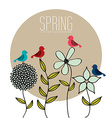 spring season design vector image vector image