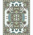 Floral Ornamental Seamless Carpet vector image
