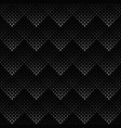 black and white seamless square pattern vector image vector image