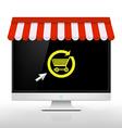 E-shop Image vector image vector image