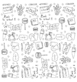 education doodles vector image vector image