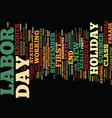 labor day what is it and why do we celebrate it vector image vector image