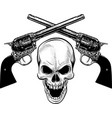 military coat arms with skull grunge design t vector image
