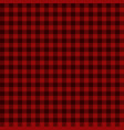 Red lumberjack seamless pattern
