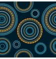 Seamless Circle Background vector image vector image