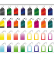 Set of Shopping tags vector image