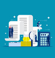 business and accounting concept business finance vector image