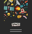 cards of space vector image vector image