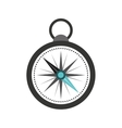 compass travel device icon vector image vector image