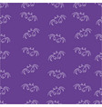 crab pattern seamless color vector image vector image