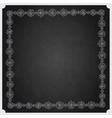 Hand Drawn Doodle Border Frame vector image vector image