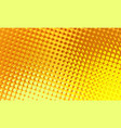 jelly halftone comic background vector image vector image
