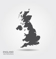 map united kingdom vector image