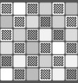 monochrome gray tile seamless pattern vector image