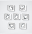 set of pointers in the form pixels vector image vector image