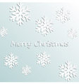 Simple merry christmas background vector image vector image