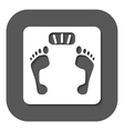 The scales icon Scales symbol Flat vector image vector image