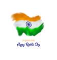 26 january india republic day stylized indian