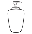 A liquid container vector image vector image
