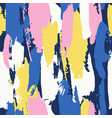 abstract brushstroke background colorful patter vector image
