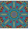 Abstract festive mandala ethnic tribal pattern vector image vector image