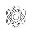 Atom science molecule vector image vector image