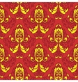 damask background vector image
