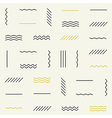 Geometric lines seamless pattern vector image
