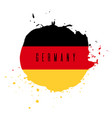 germany watercolor national country flag icon vector image vector image