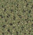 military camouflage textile pattern vector image