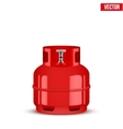 Propane Gas small cylinder vector image vector image