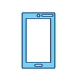 smartphone mobile technology vector image vector image
