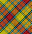 tartan buchanan seamless diagonal pattern vector image vector image