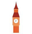 the big ben or color vector image vector image