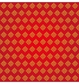 Auspicious Endless knots Chinese patternRedGold vector image