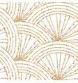 art deco gold seamless pattern geometric glitter vector image