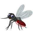 cute mosquito cartoon vector image vector image