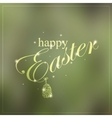 Happy Easter colorful creative card vector image vector image