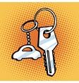 Keychain car keys vector image vector image