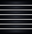 set of dark web banners vector image