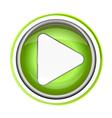 Play Button App Icon vector image