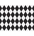 Black white argyle seamless pattern vector image vector image