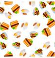 orange cake or pie vector image