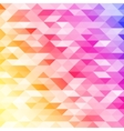 Abstract colorful lowpoly designed vector image