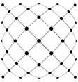 dot line grid design modern background vector image vector image