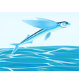 flying fish vector image