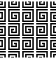geometric swirl seamless pattern vector image
