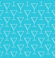 martini cocktail glass blue pattern vector image vector image