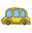 Yellow car cute